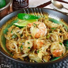 Pad Thai with Shrimp recipe