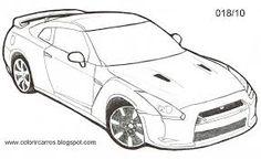 8 Mejores Imágenes De Autos Para Pintar Pencil Drawings Cartoon Y