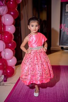 Belle of the Pink Ball Runway, Flower Girl Dresses, Summer Dresses, Wedding Dresses, Model, Pink, Fashion, Cat Walk, Bride Gowns
