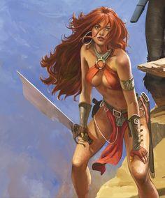Roodhaar (Storms Sidekick), by Don Lawrence