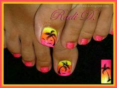 pin on nails Palm Tree Toe Nail Designs Gallery pin on nails Palm Tree Toe Nail Designs. Here is Palm Tree Toe Nail Designs Gallery for you. Palm Tree Toe Nail Designs palm tree toenail toe nail designs fancy na. Beach Toe Nails, Summer Toe Nails, Cute Toe Nails, Toe Nail Art, Fancy Nails, Trendy Nails, Summer Beach Nails, Beach Nail Art, Beach Nail Designs