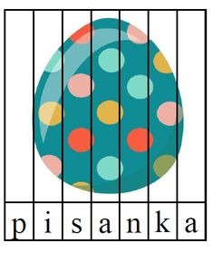 Wielkanocna gigapaka przedszkolaka - Pani Monia Easter Activities For Kids, Kindergarten, Bee, Puzzle, Kids Rugs, Cards, Decor, Omega, Education