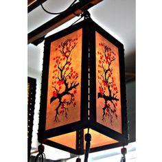 Zen hanging lamp chandelier / housewares fixture pendant lantern lampshade night light lighting shades home garden decor sakura HA05