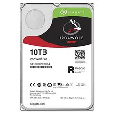 From 337.98 Seagate Ironwolf Pro 10tb 3.5 Inch Internal Hard Drive For 1-16 Bay Nas Systems (7200 Rpm 256mb Cache Up To 214mb/s 300tb/year Workload Rate)