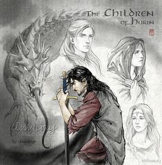 Glaurung, Turin, Beleg, Nienor and Finduilas