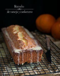 Manzana&Canela: Bizcocho de naranja y cardamomo