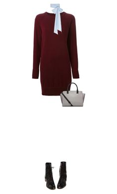 """""""Untitled #2260"""" by mitchelcrandell ❤ liked on Polyvore featuring Maison Margiela, MDS Stripes and Michael Kors"""