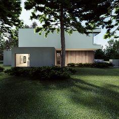 m-house / tamizo architects group Natural Architecture, Minimal Architecture, Contemporary Architecture, Interior Architecture, Villa, Lofts, White Stucco House, Tamizo Architects, Stucco Homes