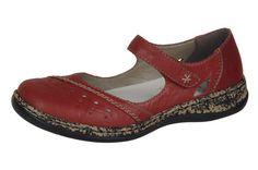 Dámska obuv so zapínacím páskom