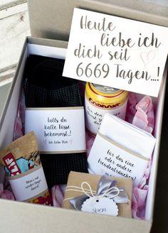 Geschenkebox für den Bräutigam