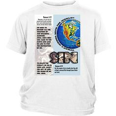 """District Youth-Sinful World--Click link to see """"SIZING CHART"""" ---> https://cdn.shopify.com/s/files/1/1474/7084/files/Tee_Apparel_Sizing_Chart.pdf?8220756522297941279"""