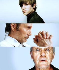 Ulliel // Mikkelsen // Hopkins - the trifecta that is Hannibal!