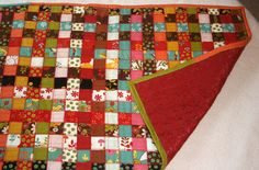 woven quilt- jelly rolls