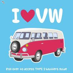 VW Camper Van Graphic