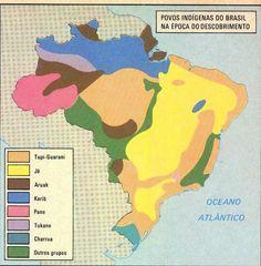 File:Mapa-dos-Povos-Indigenas-na-Epoca-do-Descobrimento. Indigenous Tribes, Diagram, Teaching, Maps, Discovery, Charts, Brazil Brazil, Wikimedia Commons, Languages