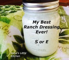 Low Carb Chipotle Ranch Salad Dressing - Nana's Little Kitchen Best Ranch Dressing, Low Carb Ranch Dressing, Chipotle Ranch Dressing, Ranch Salad Dressing, Keto Ranch Dressing Recipe, Homemade Ranch Dressing, Restaurant Ranch Dressing, Avacado Dressing, Low Carb Salad Dressing
