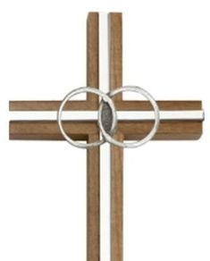Crafted in the United States, this walnut wall cross will serve as a reminder of the sacrament of marriage, and remind the happy couple to put Christ in the center of their marriage. Great wedding gift. #DCP #CatholicProducts #catholicweddinggift Catholic Traditions, Catholic Gifts, Holiday Traditions, Wedding Cross, Great Wedding Gifts, 21st Gifts, Wall Crosses, White Ribbon, Christ