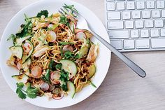 Great recipe for Noodle Salad with Chicken and Chile-Scallion Oil. You will need the bamboo tong, get it at: http://www.amazon.com/Good-Gusto-Tongs-Wooden-Spoons/dp/B00PCD5UCI/ie=UTF8?m=AMLGAG9PZ34I8&keywords=Tongs+Set