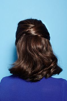 How to tutorial. Medium length hair hairstyle