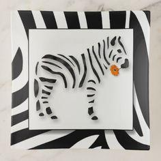 Zebra Black and White Stripes Jungle Safari Theme Trinket Trays - black gifts unique cool diy customize personalize