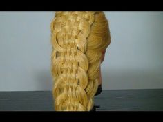 Прическа с плетением на длинные волосы. Braided hairstyles tutorial - YouTube
