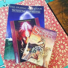 A few of my favourite things...oracle cards #gutsygirlart #oraclecards