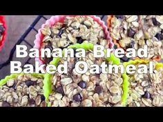 Banana Bread Baked Oatmeal - My Whole Food Life