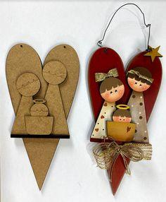 Nativity, Christmas Ornaments, Holiday Decor, Sagrada Familia, Felted Wool, Ornaments, Xmas, The Nativity, Christmas Jewelry