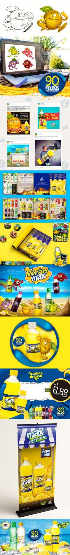 Campanha Integrada Max Refrigerantes - Ferver Comunicação