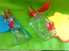 Divertidos perfumeros que encerraran su propio perfume. Un regalo muy especial para cumpleaños y #comuniones.