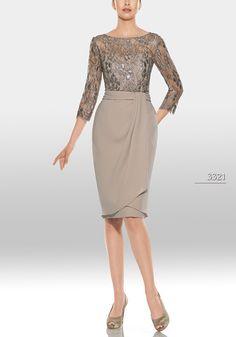 Vestido de madrina de Teresa Ripoll modelo 3321 by Teresa Ripoll   Boutique Clara. Tu tienda de vestidos de fiesta.