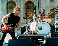 Another shot of Eric Carmen and Ringo Starr jammin' on stage. 2000