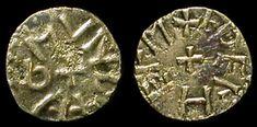 Anglo-Saxon. Great Britain, kingdom of Northumbria. Archbishop Wigmund, 837-854 AD. Bronze Styca, struck by moneyer AEthelhelm.