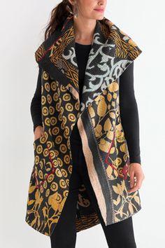 Kantha Circular Vest #29