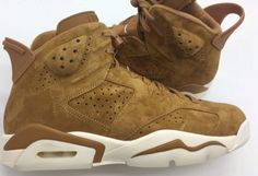 ad61ed383e10 Air Jordan 6 Wheat Golden Harvest 384664-705 For The Fall