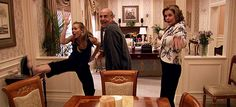 Arrested Development chicken dance.