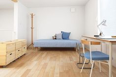 We Want To Move Into This Small-Space Japanese Home #refinery29 http://www.refinery29.com/muji-urban-apartment#slide-4 ...