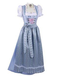 Dirndl Dress, Blue Fashion, The Hobbit, Elegant, Dressing, Victorian, Wedding Dresses, Beautiful, Hobbies