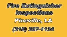 Fire Extinguisher Inspections Pineville Louisiana The Source for FAST Onsite Fire Extinguisher Inspections in Pineville LA is Norred Fire Systems. We are you...