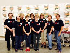 Food Bank volunteers Saturday am.