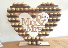 Ferrero Rocher Heart Tree, All Occasions in our Variations holds 59 or 118 i lovveeeee this