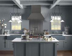15 серых кухонь – Вдохновение