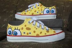 Tênis Converse All Star Customizado Bob Esponja