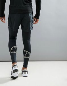 Men's running tights, compression pants, cold weather running, training tights, gym leggings, yoga leggings, barre leggings, soccer leggings, football tights, breathable, moisture wicking, athletic wear, gym wear, men's fitness, sports wear, health wear, weight loss wear, activewear, Crossfit, affiliate link