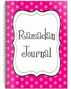 Kids Ramadan Journal
