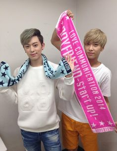 Boyfriend, Donghyun and Hyunseong