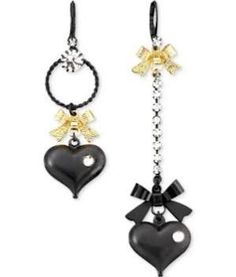 heart earrings - Google Search