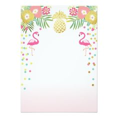 44 Trendy Ideas Birthday Party Invitations For Adults Valentines Day Flamenco Party, Aloha Party, Flamingo Birthday, Tropical Party, Birthday Party Invitations, Decoration, Hawaii, Valentines Day, Anna