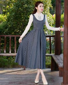 Old Fashion Dresses, Girls Fashion Clothes, Modest Fashion, Skirt Fashion, Lovely Dresses, Simple Dresses, Elegant Dresses, Vintage Dresses, Casual Dresses