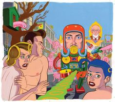 Daniel Clowes @ San Francisco Art Exhibits1